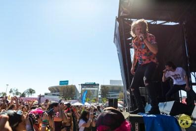 3OH!3 at San Diego Vans Warped Tour 2018