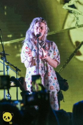 Billie Eilish at Agenda Festival