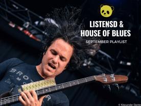 ListenSD x House of Blues September Playlist - photo credit: Alexander Dantes