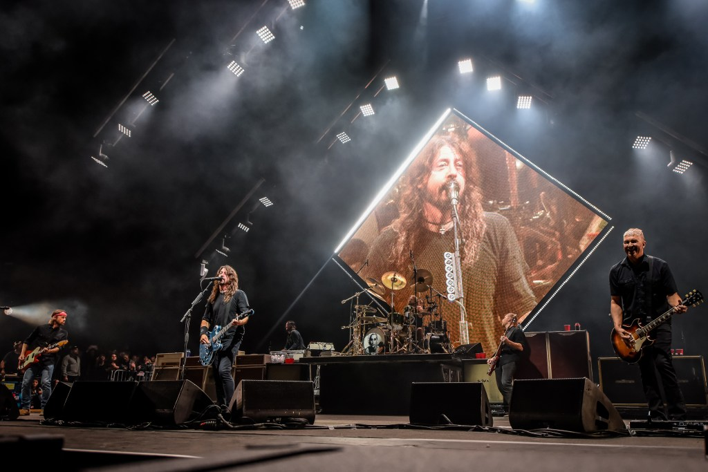 Nirvana reunion at Cal Jam '18 by Chris Molina