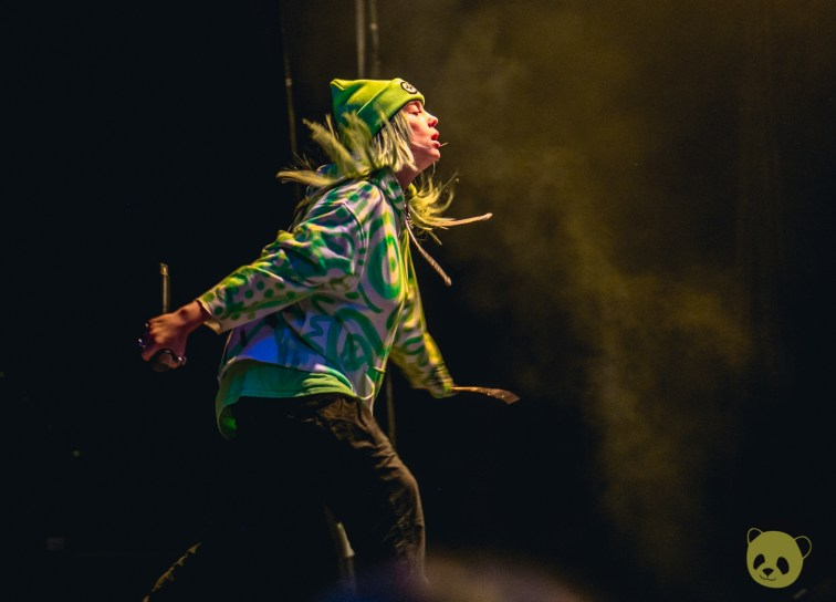 Billie Eilish at Wrex the Halls by Charlie Spadone
