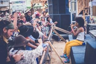 Earth Arrow at Joshua Tree Music Festival, photo by Kristy Walker for ListenSD