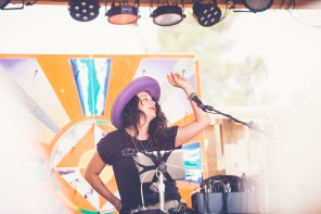 Gabriella Evaro at Joshua Tree Music Festival, photo by Kristy Walker for ListenSD
