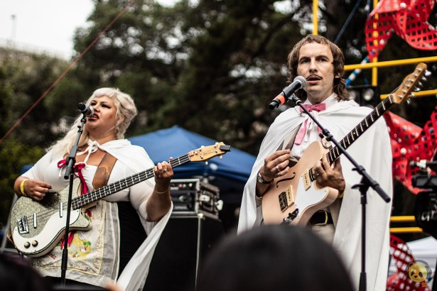 Shannon and the Clams at Burger Boogaloo by Nicholas Regalado for ListenSD