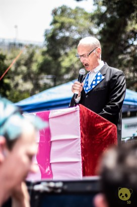 John Waters at Burger Boogaloo by Nicholas Regalado for ListenSD
