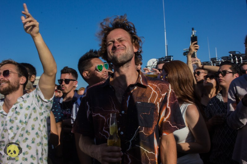 Fans at Goldroom's High Seas Boat Tour by Rachel Frank for ListenSD