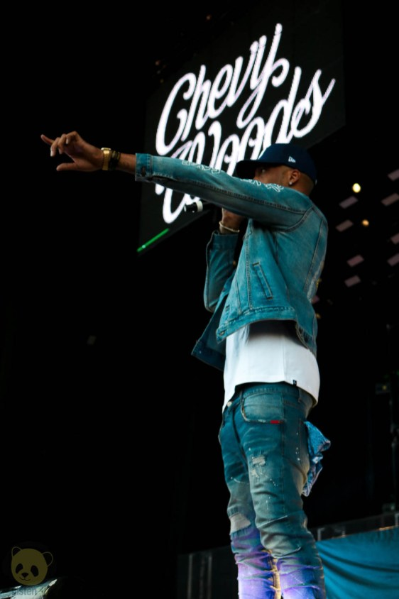 Chevy Woods at North Island Credit Union Amphitheatre by Mashal Rasul for ListenSD