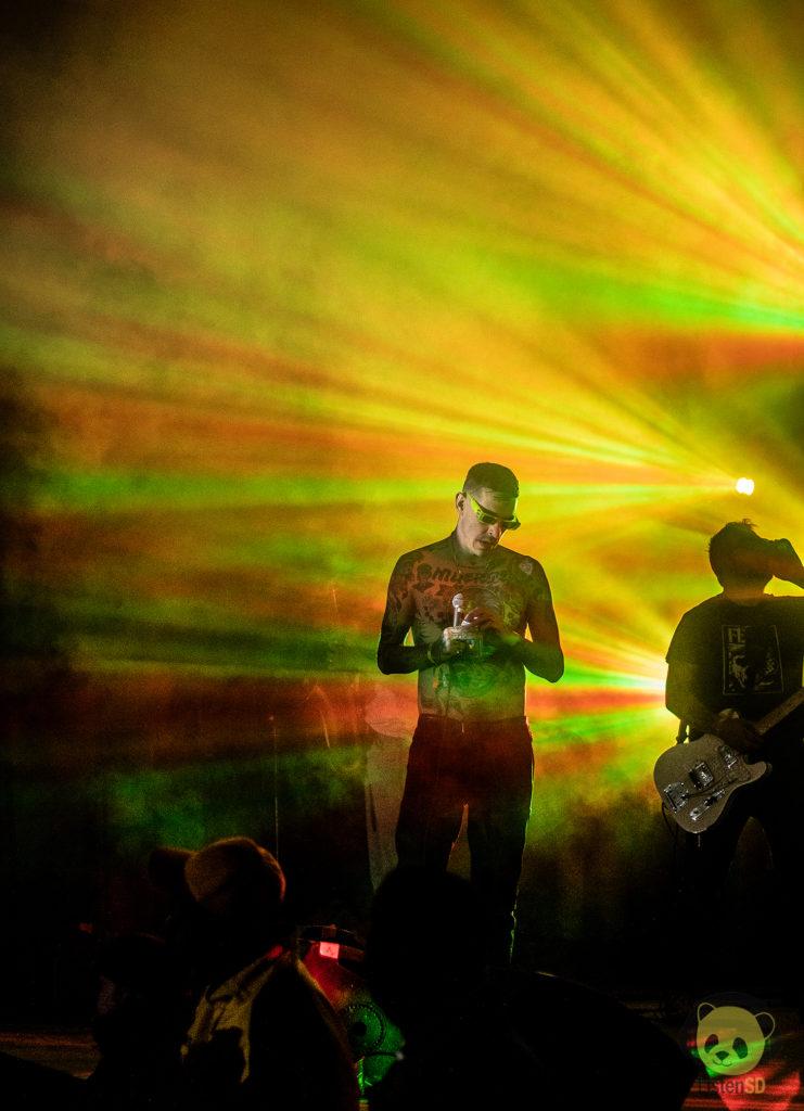 Viagra Boys at Desert Daze by Nicholas Regalado for ListenSD