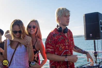 Le Youth at Goldroom's High Seas Boat Tour by Rachel Frank for ListenSD