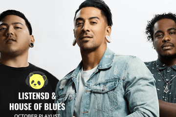 HOUSE OF BLUES X LISTENSD OCTOBER PLAYLIST