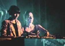 Gioli & Assia at Wonderfront Festival 2019 by Collin Worrel for ListenSD