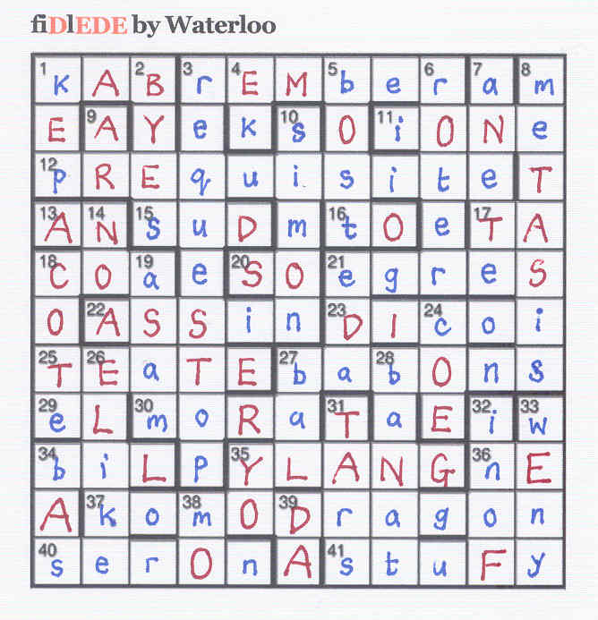 fiDlEDE by Waterloo