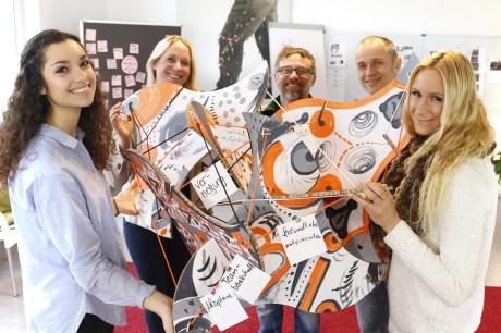 """teamskulptur"", workshops mit dem skulpturenbaukasten f-io / foto: thomas finster"