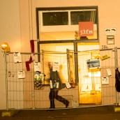 """lichtinstallation """"betreten verboten"""", j3fm"""