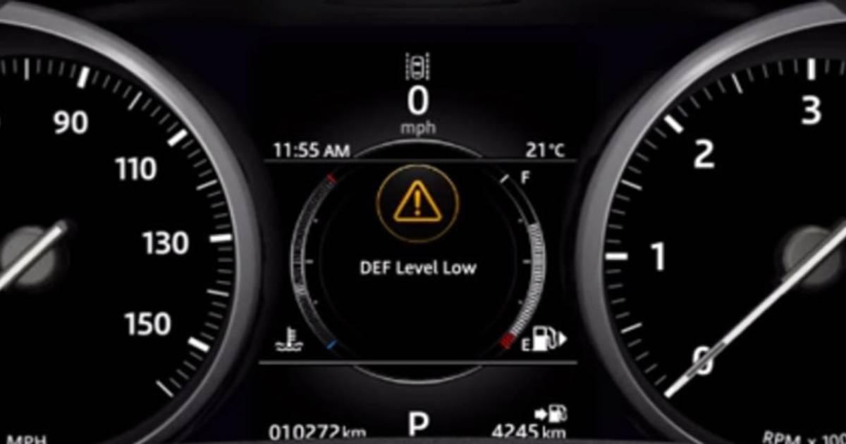 land rover diesel exhaust fluid adblue