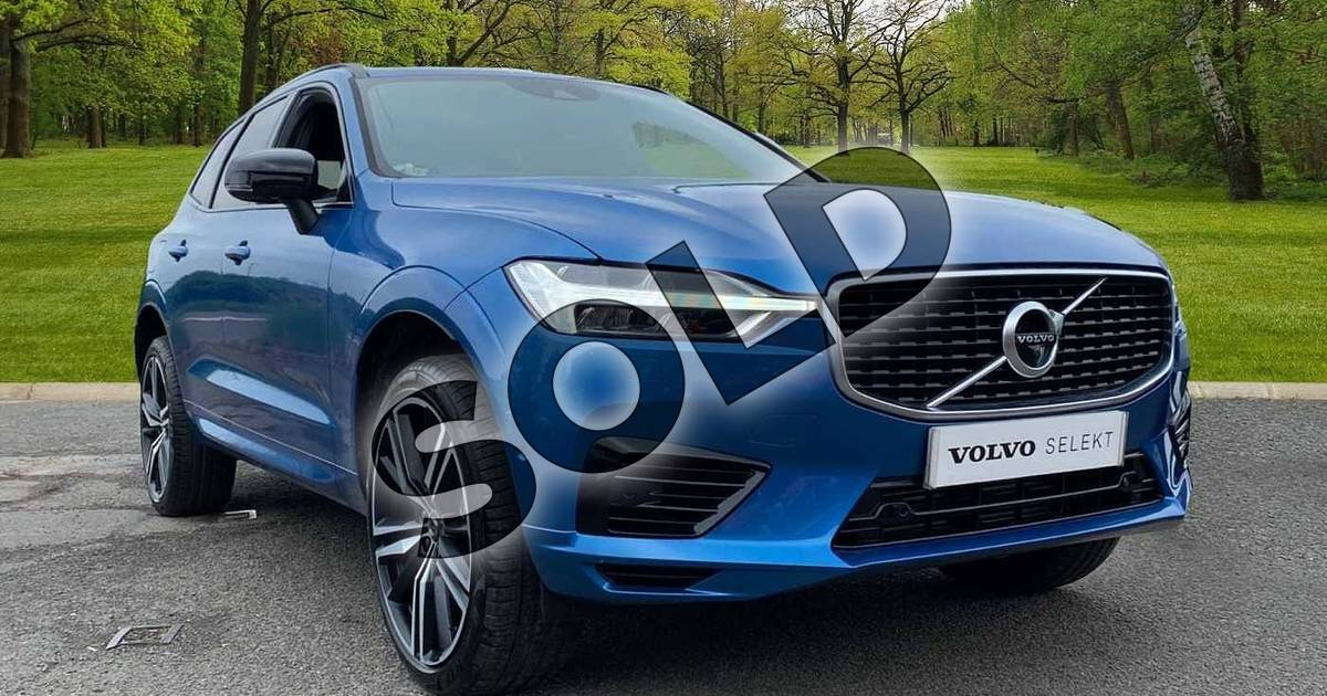 Volvo XC60 2.0 T8 (390) Hybrid R DESIGN Pro 5dr AWD G tronic for sale at Listers Volvo Worcester (Ref: 067/U051594)