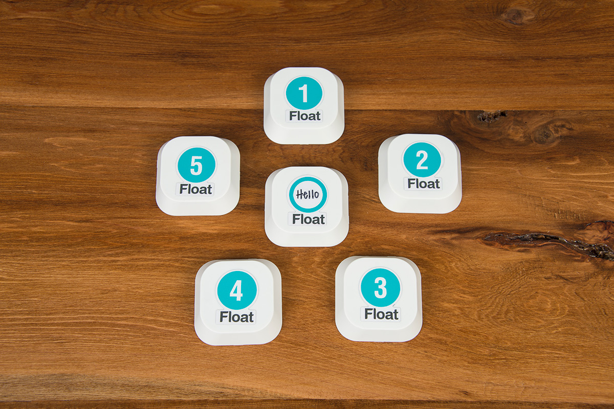 Float iBeacons