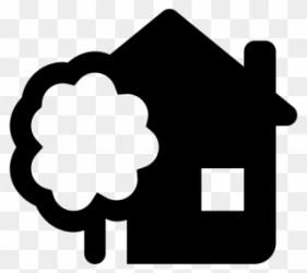 House With A Garden Icon Casa Vector Clipart #1019795 PinClipart
