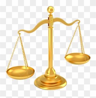 legal clipart gold scale
