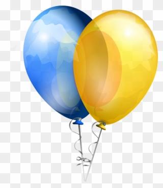 yellow balloon clipart free