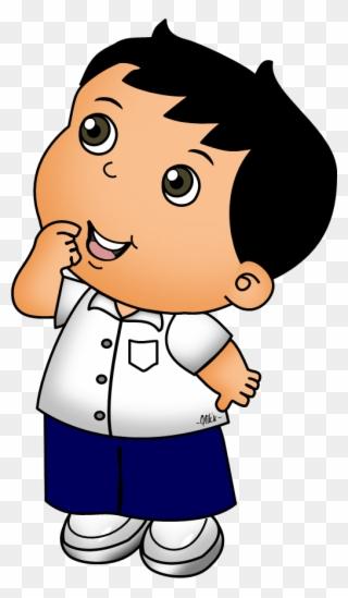 Animasi Anak Sd Png : animasi, Kartun, Muslim, Clipart, Cartoon, Child, Transparent, (#28331), PinClipart