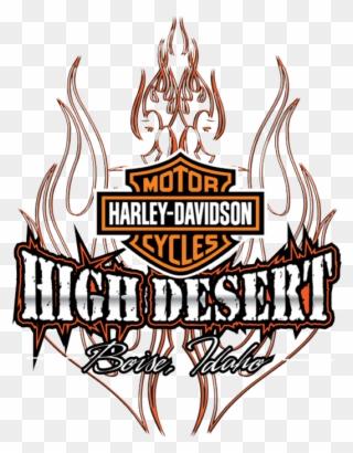 Harley Davidson Clipart : harley, davidson, clipart, Desert, Harley, Davidson, Night, Clipart, (#217957), PinClipart