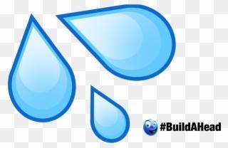 water drop emoji cutout