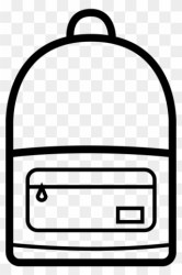 Clipart Book Backpack Backpack Icon Png Transparent Png #503551 PinClipart