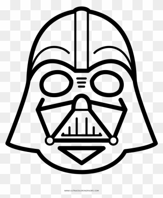 Darth Vader Outline : darth, vader, outline, Darth, Vader, Download, PinClipart