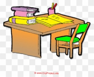 Clip Download Organized Desk Clipart Cartoon Desk Png Download #847547 PinClipart