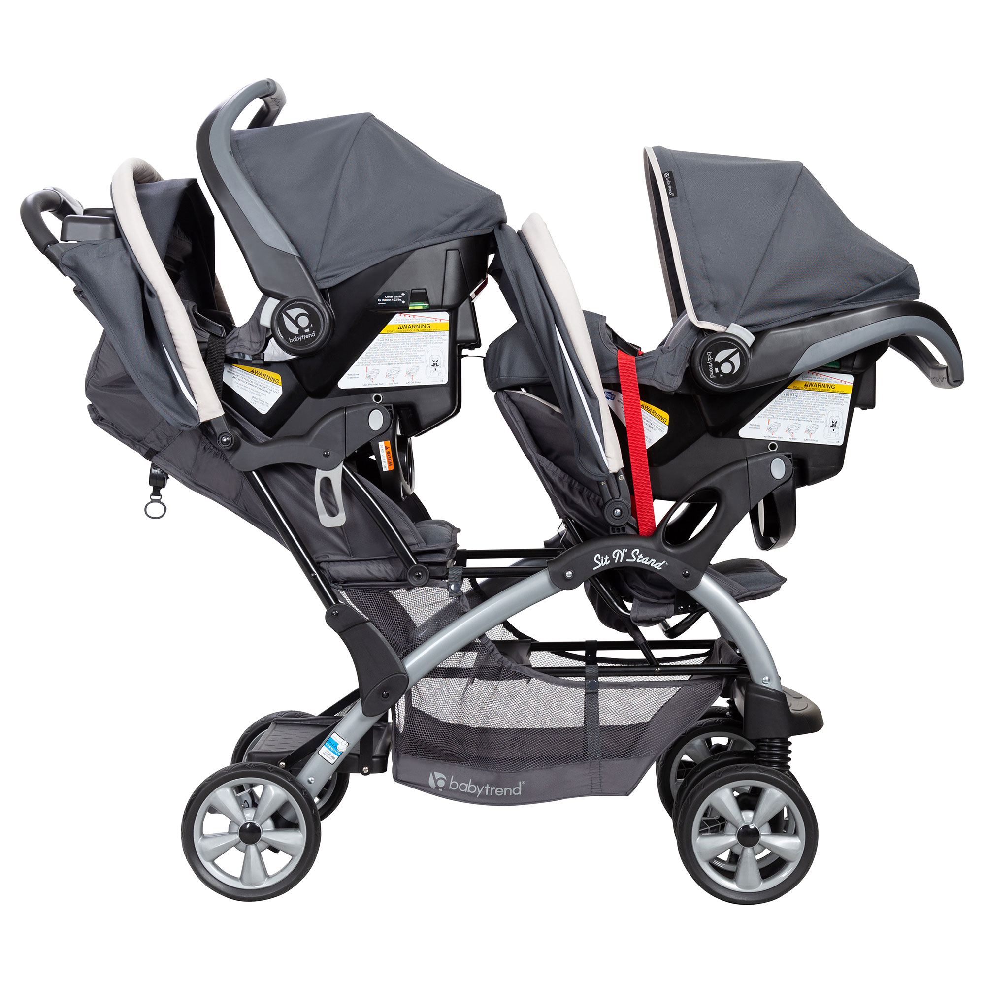 Baby Trend Sit N' Stand Easy Fold Twin Double Infant ...