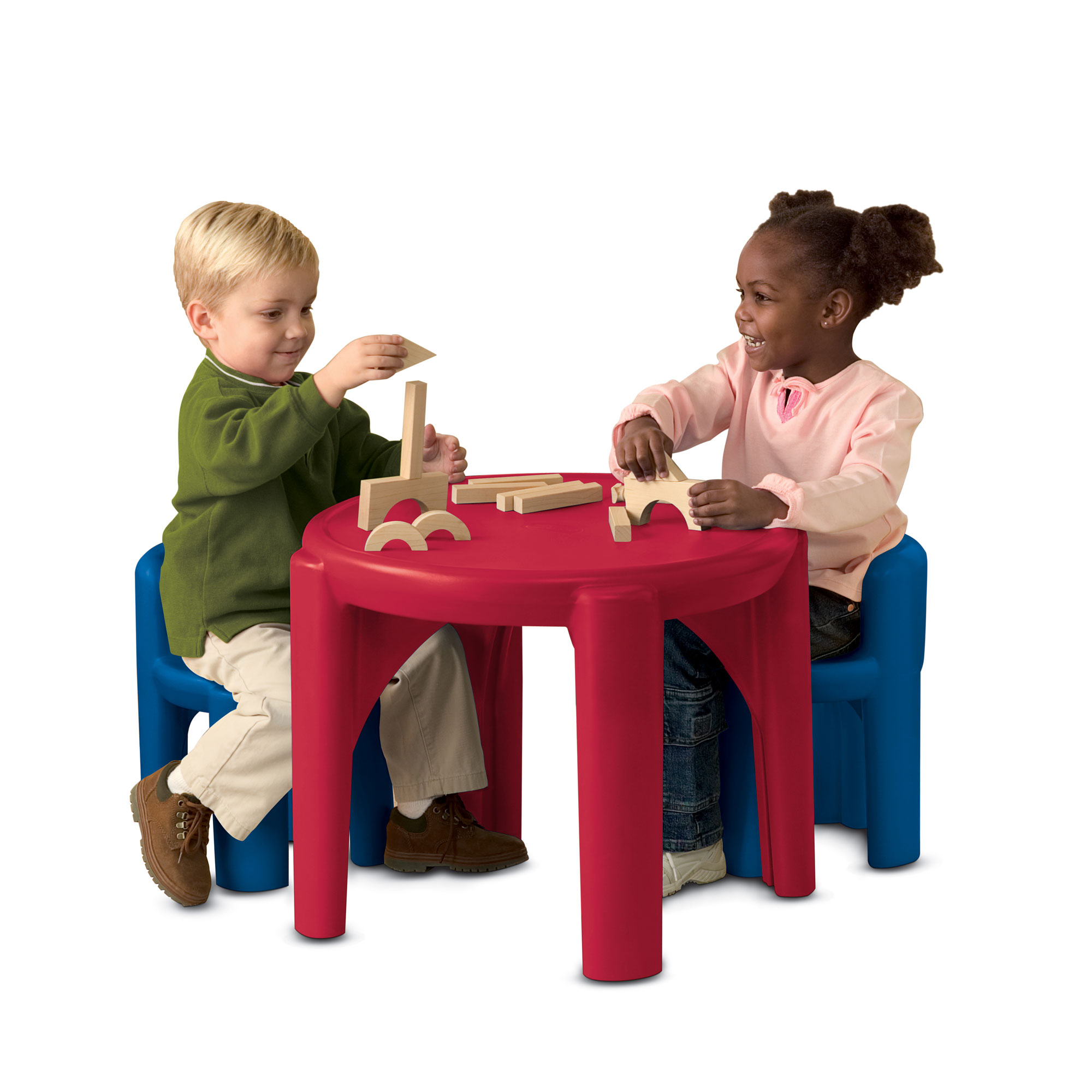 Little Tikes Activity Table With 2 Chairs Play Set Children Primary Colors 50743606458