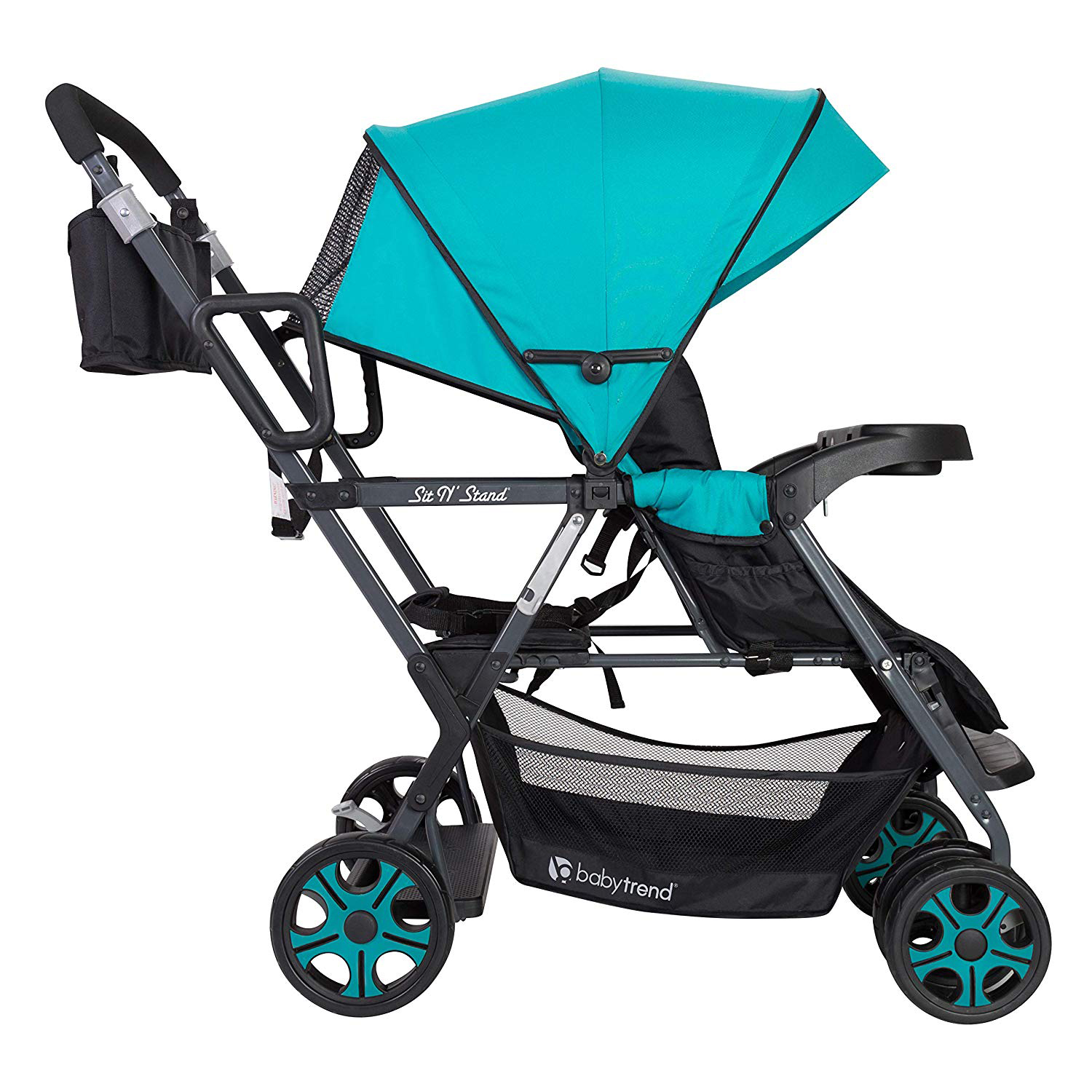 Baby Trend Sit N' Stand Single or Double Baby Stroller ...