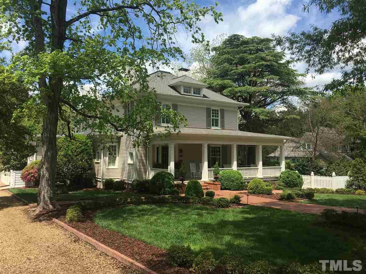 $1,985,000 - 4Br/4Ba -  for Sale in Historic District, Chapel Hill