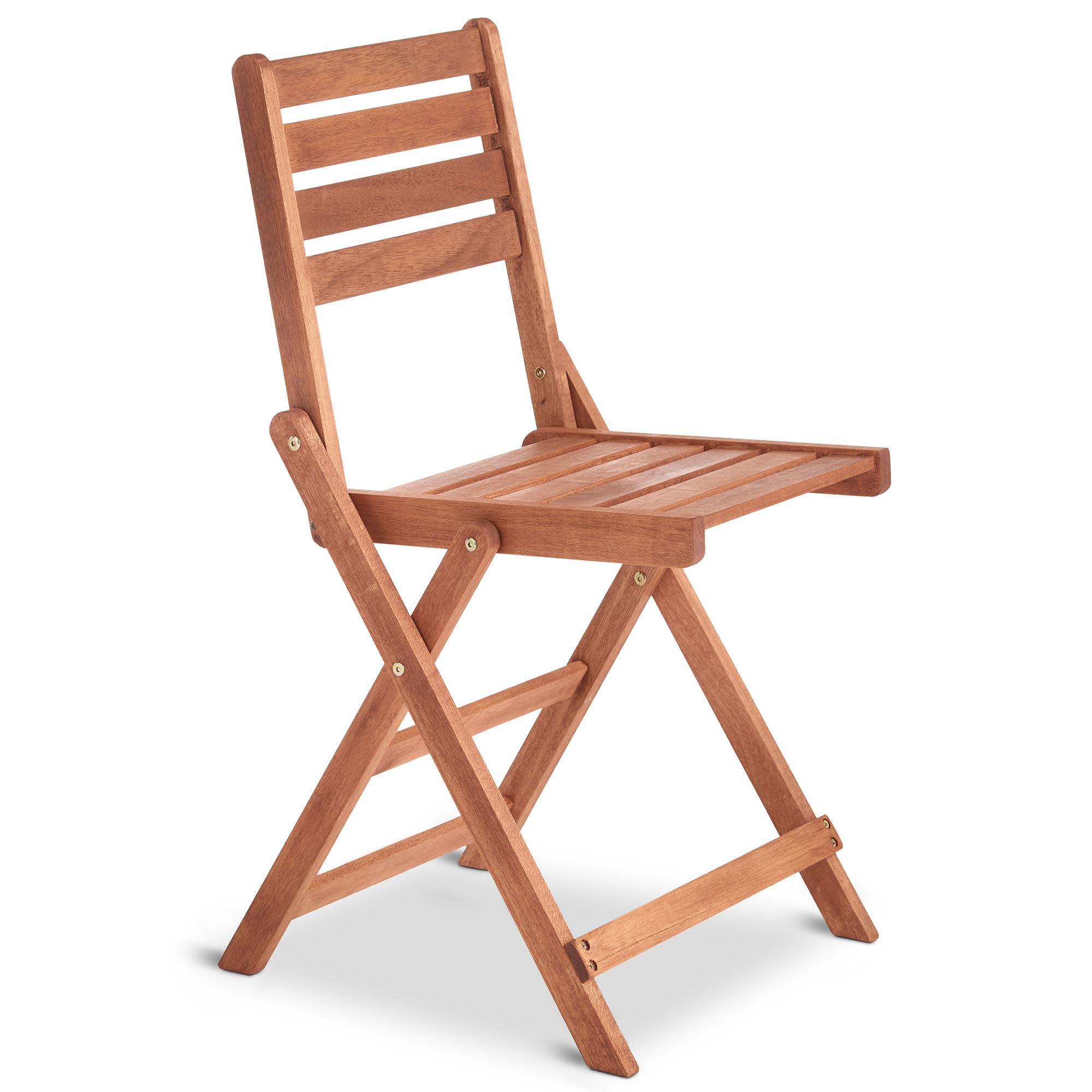 outdoor wooden folding chairs collapsible hammock chair vonhaus set of 2 hardwood garden