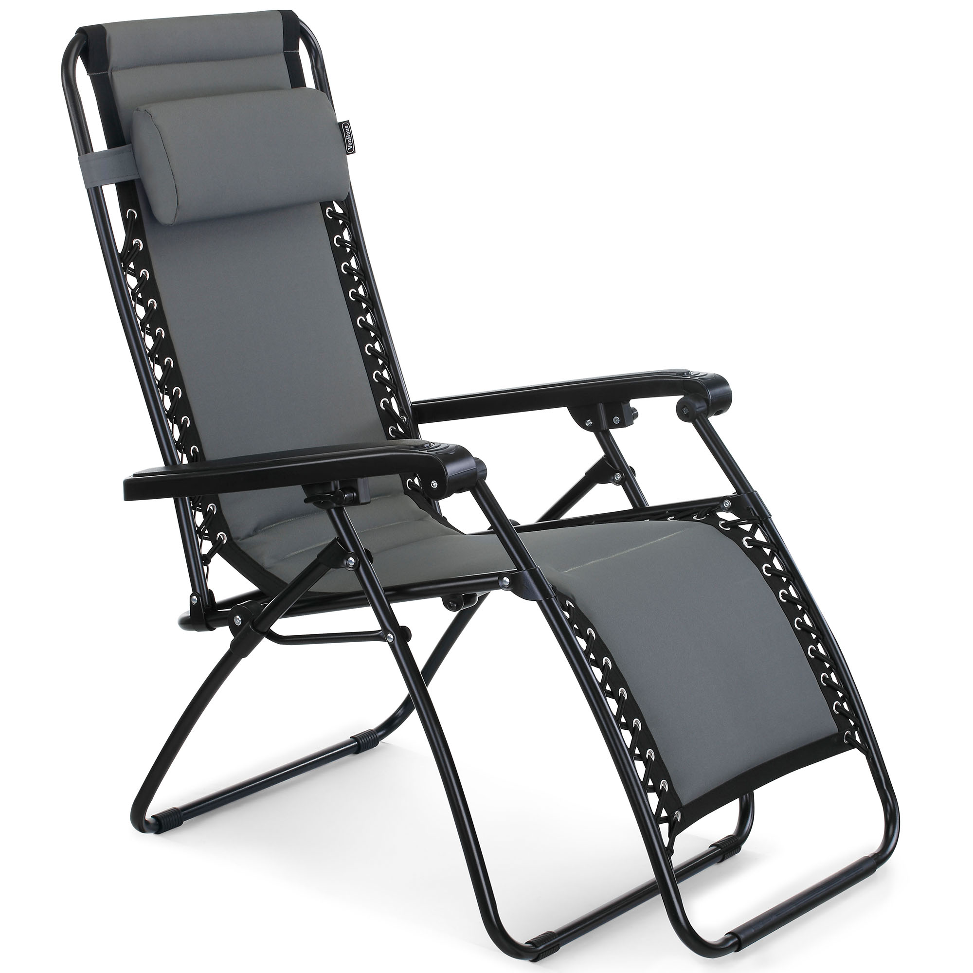 Padded Zero Gravity Chair Vonhaus Oxford 600d Padded Zero Gravity Chair Outdoor