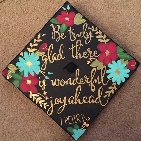 High School Graduation Cap Decoration Ideas Elitflat