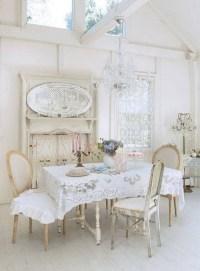 35+ Beautiful Shabby Chic Dining Room Decoration Ideas ...