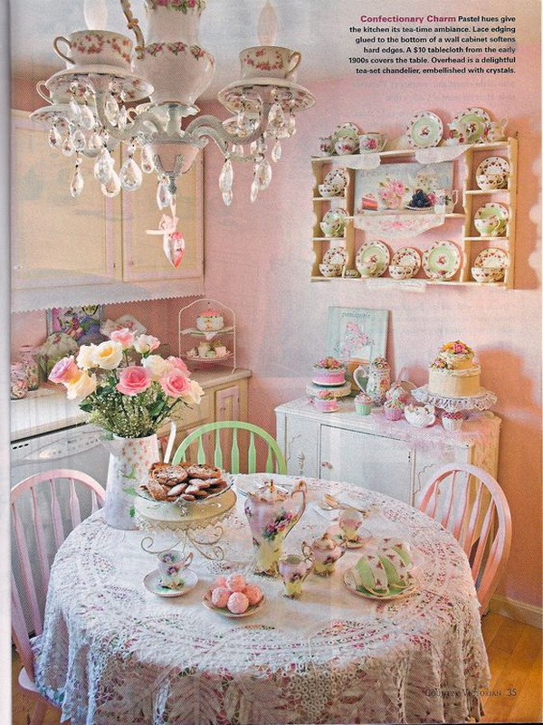 french country kitchen chair cushions posture study 35+ beautiful shabby chic dining room decoration ideas - listing more