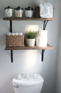 Awesome Over The Toilet Storage & Organization Ideas ...