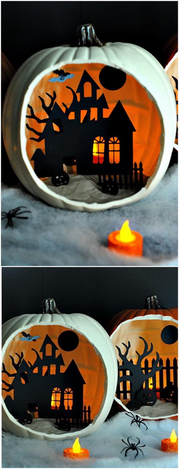 30 Homemade Halloween Decoration Ideas Listing More