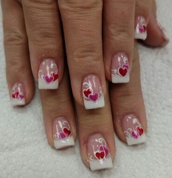 70+ Romantic Valentine's Day Nail Art Ideas