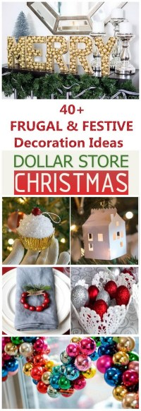 Dollar Store Holiday Decorating Ideas | www.topsimages.com