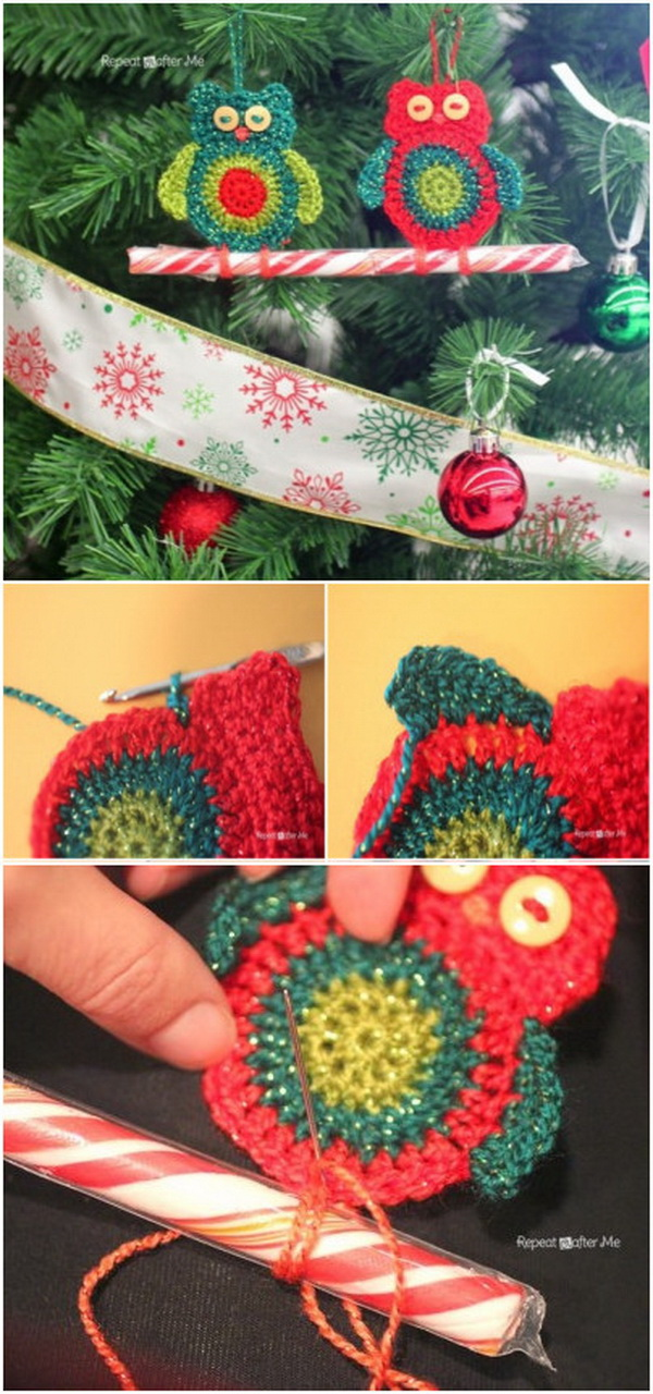 Crochet Christmas Decorations Free Patterns