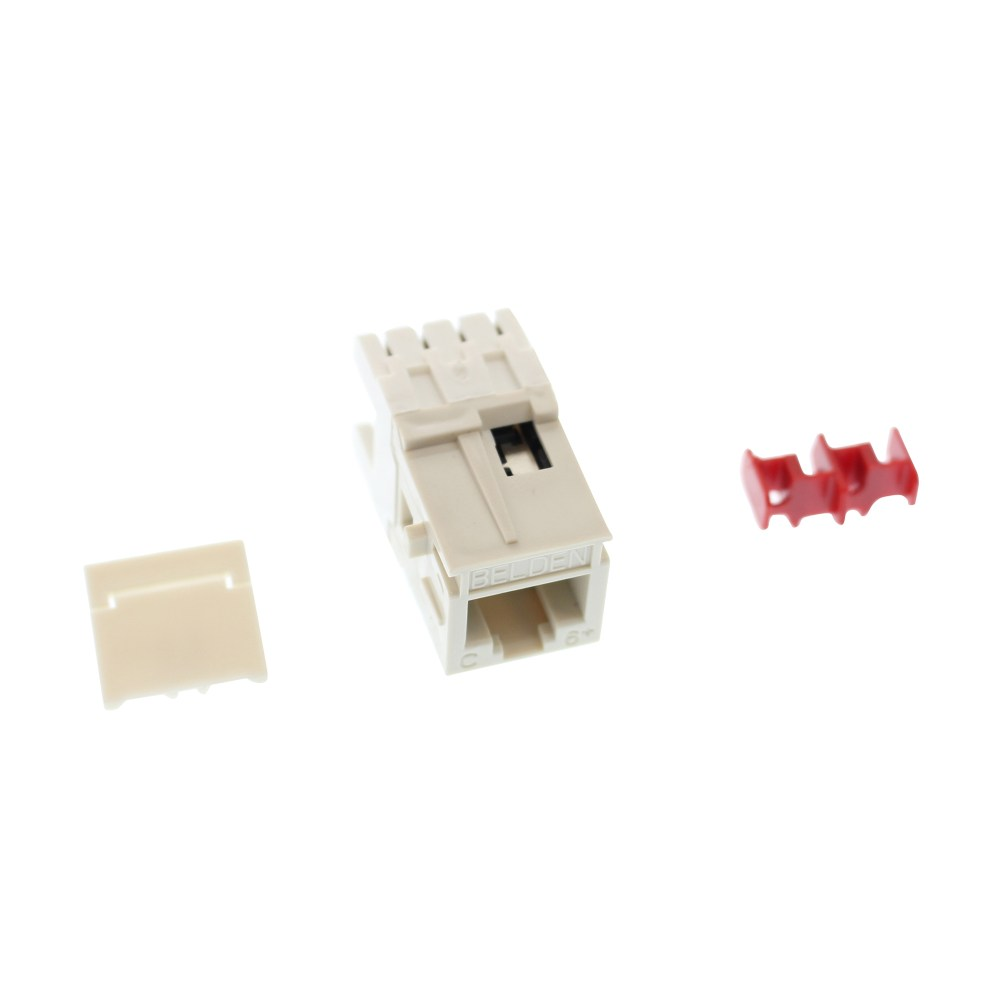 medium resolution of this auction is for 1 belden ax101064 cat6 modular jack category 6 rj45 mdvo style