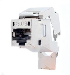 this auction is for 1 belden ax104562 keyconnect f upt shielded cat6a rj45 modular jack  [ 2000 x 2000 Pixel ]