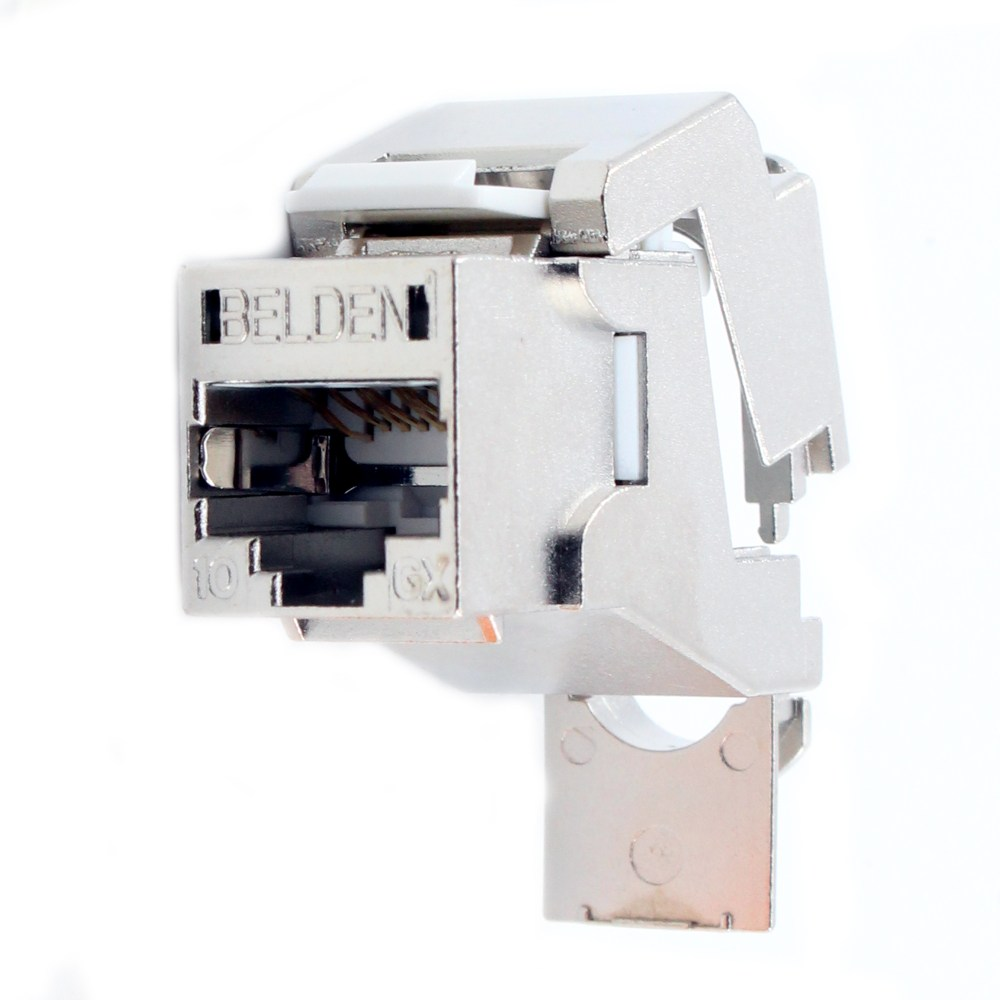 medium resolution of this auction is for 1 belden ax104562 keyconnect f upt shielded cat6a rj45 modular jack