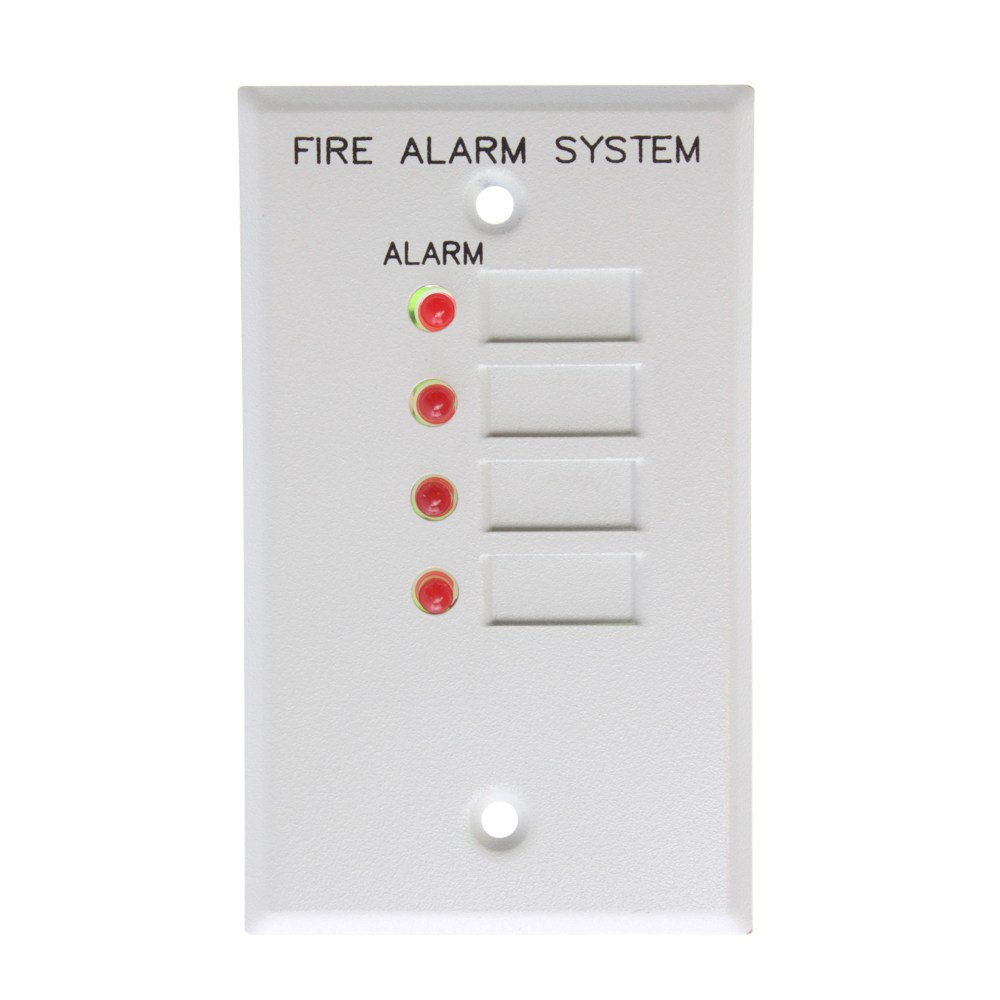 medium resolution of this auction is for 1 est edwards 4za 4 zone alarm led remote annunciator module