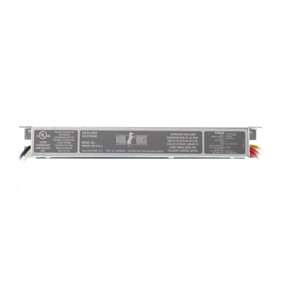 medium resolution of this auction is for 1 fulham wham 120 213 l workhorse fluorescent ballast 2 lamp cfl t5 120 277v