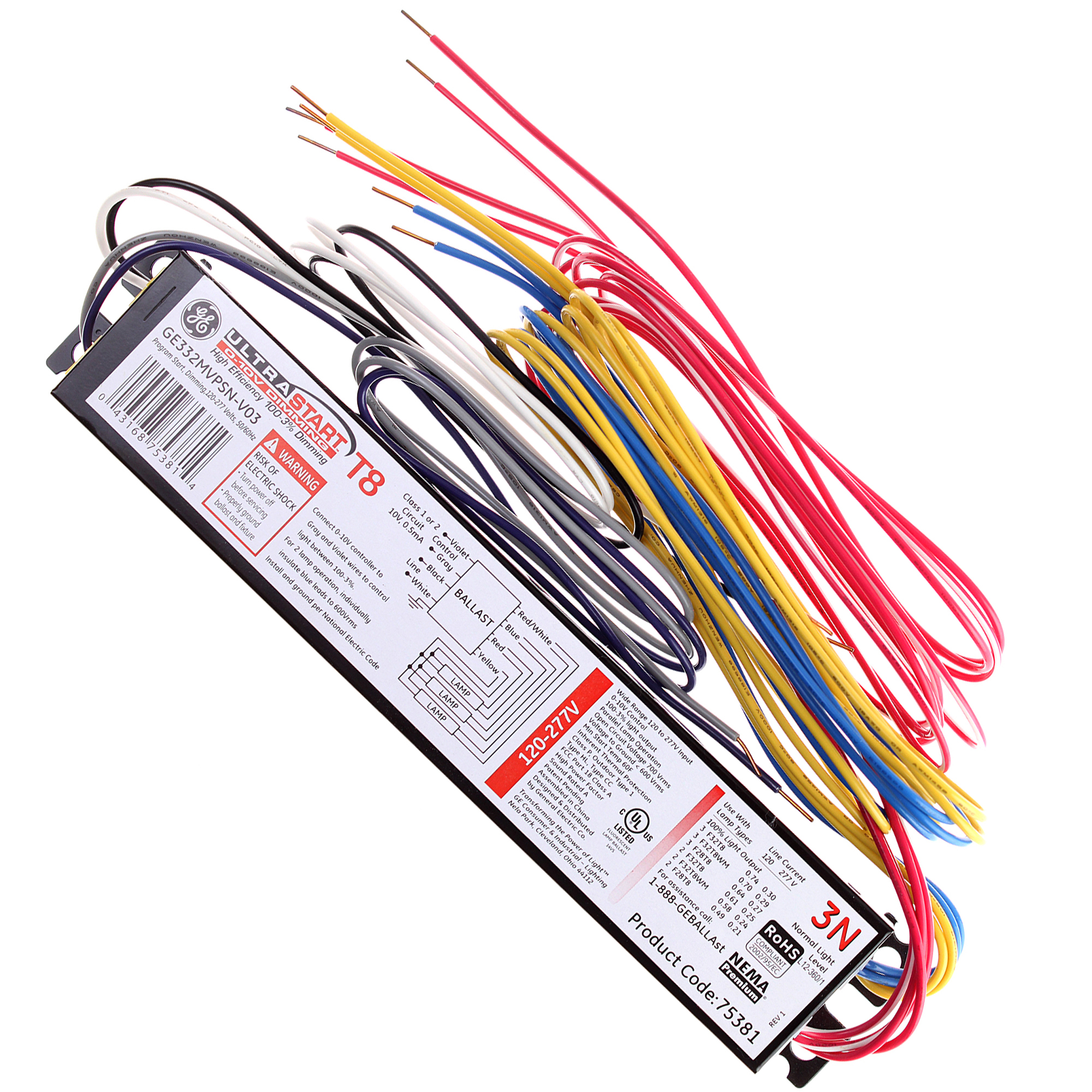 GEGE332MVPS N V03 A?resize\=665%2C665 ge proline t12 ballast wiring diagram wiring diagrams Home Electrical Wiring Diagrams at mifinder.co